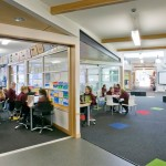 General learning areas and adjacent breakout spaces